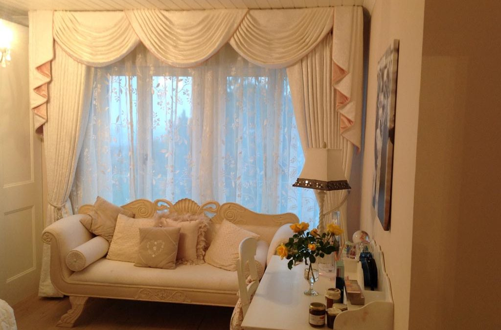 Why is it wise to use a curtain at your home?